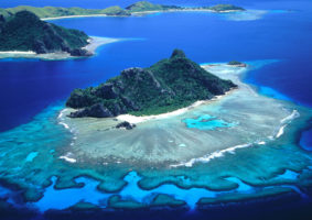 Monukiri and Monu Islands. Fiji Islands